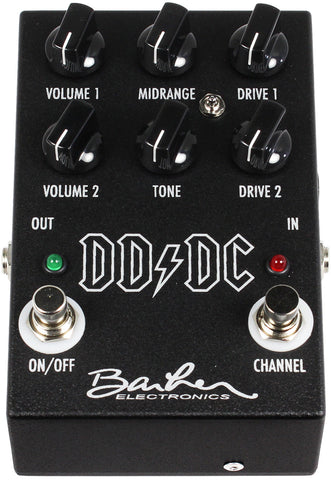 Barber DD-DC Direct Drive Dual Channel Pedal - Humbucker Music