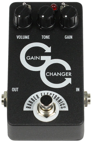 Barber Gain Changer Pedal - Black - Humbucker Music