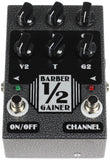 Barber Half Gainer Low Gain Overdrive Pedal - Humbucker Music