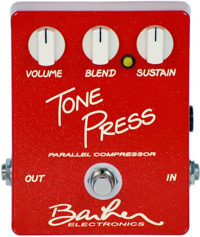 Barber Tone Press Pedal - Red - B Stock - Humbucker Music