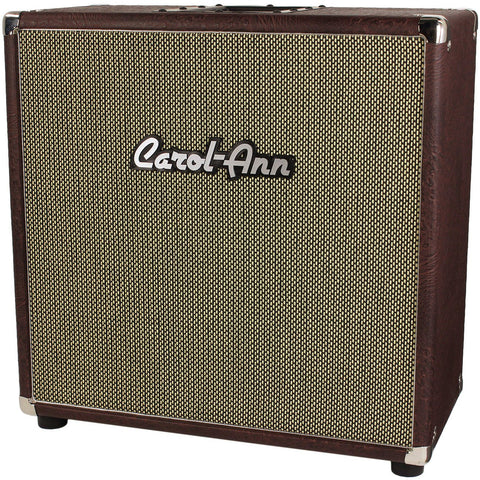 Carol-Ann 1x12 Cabinet in Brown Ostrich - Humbucker Music
