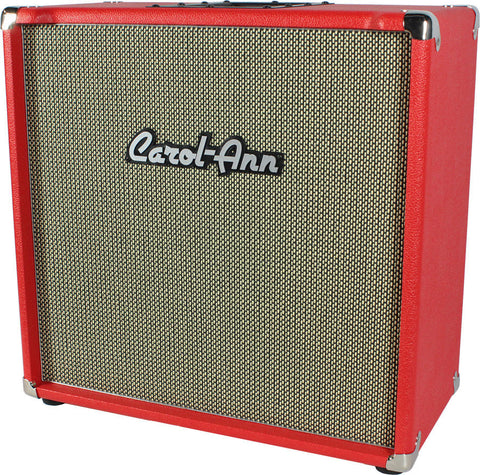 Carol-Ann 1x12 Cabinet in Red - Humbucker Music