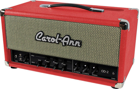 Carol-Ann OD2 Head in Red - Humbucker Music