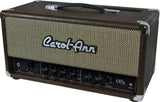 Carol-Ann OD3 Head in Brown Ostrich - 100 Watt