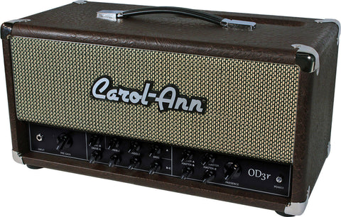 Carol-Ann OD3r Head in Brown Ostrich - Humbucker Music