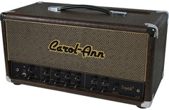 Carol-Ann Triptik-2 LP Head - Brown Ostrich