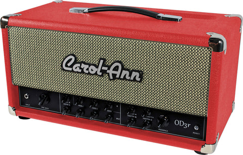 Carol-Ann OD3r Head in Red - Humbucker Music