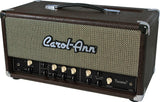 Carol-Ann Tucana 3 Head in Brown Ostrich - Humbucker Music