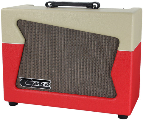 Carr Skylark Amp - Cream / Red
