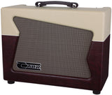 Carr Skylark 1x12 Combo Amp, Cream, Wine - Humbucker Music