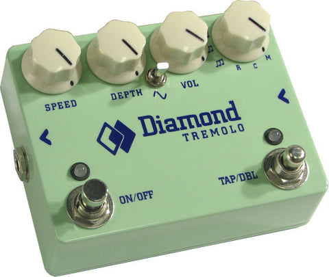 Diamond Tremolo Pedal - Custom Surf Green