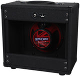 Dr. Z 1x10 Speaker Cab - Black / Salt and Pepper