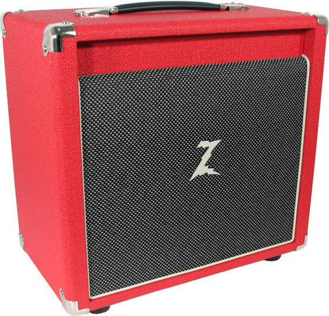 Dr. Z 1x10 Speaker Cab - Red / Salt and Pepper