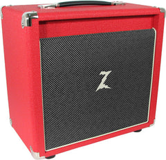 Dr. Z 1x10 Dual Speaker Cab - Red / Salt and Pepper