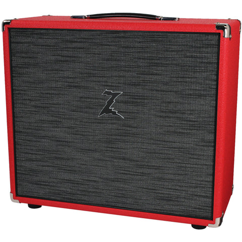 Dr. Z 2x10 Speaker Cab - Red w/ Z-Wreck Grill