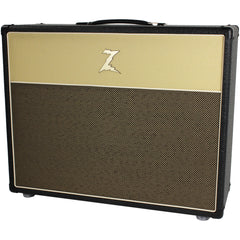 Dr. Z 2x12 Open Back Cab - Black and Blonde