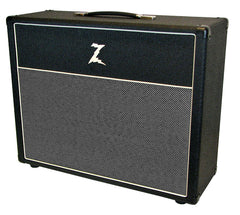 Dr. Z 2x12 Open Back Cab - Black - Salt & Pepper