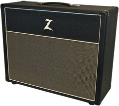 Dr. Z 2x12 Open Back Cab, Black, Tan
