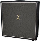 Dr. Z 4x10 Speaker Cab - Black w/ Salt & Pepper Grill