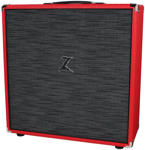 Dr. Z 4x10 Speaker Cab - Red w/ Z-Wreck Grille