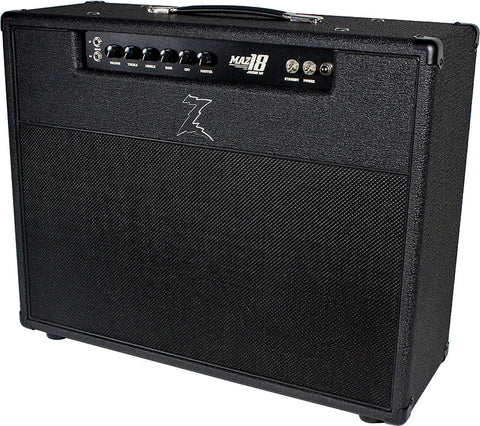 Dr. Z Maz 18 Jr NR 2x12 Combo - Blackout