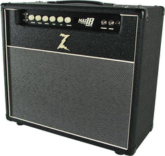 Dr. Z Maz 18 Jr NR 1x12 Combo - Black w/ Salt and Pepper