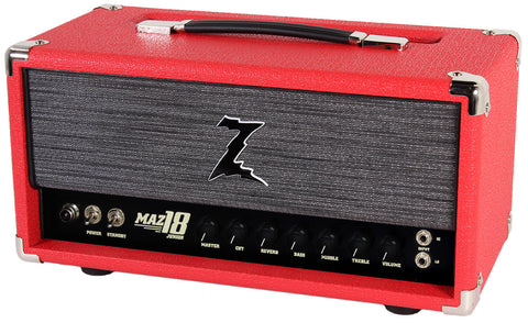 Dr. Z Maz 18 Jr Reverb Head - Red w/ ZW Grill