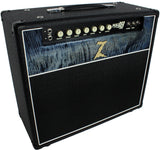 . Dr. Z Maz 18 Jr Reverb 1x12 - Custom Blue Flamed Maple