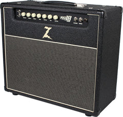 Dr. Z Maz 18 Jr Reverb 1x12 Combo - Black w/ Salt & Pepper Grill