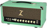Dr. Z Maz 18 Jr Reverb Head - Surf Green w/ Tan Grill
