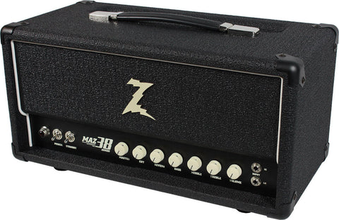 Dr. Z Maz 38 SR Head w/ Reverb in Black
