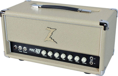 Dr. Z Maz 38 SR Head w/ Reverb in Blonde