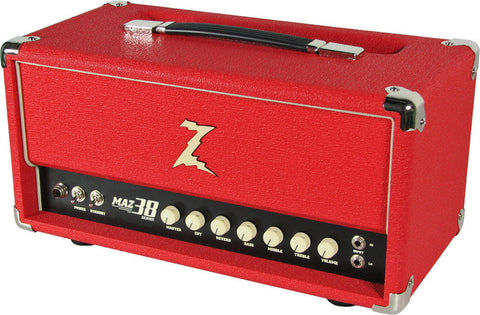 Dr. Z Maz 38 SR Head w/ Reverb in Red