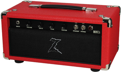 Dr. Z Monza Head - Red w/ Blackout Grill