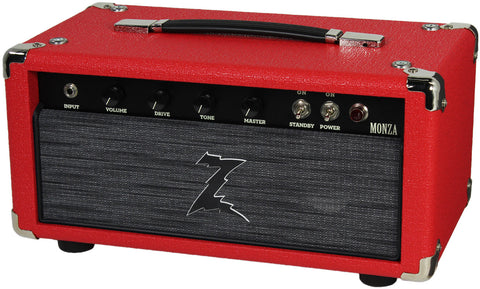 Dr. Z Monza Head - Red w/ Z-Wreck Grill