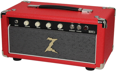 Dr. Z Monza Head - Red with Salt & Pepper