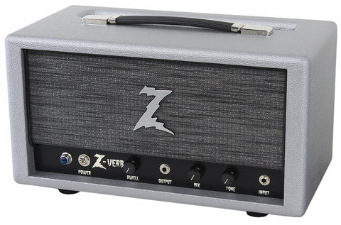 Dr. Z Z-Verb All Tube Handwired Reverb, Silver, ZW Grille