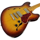Fano GF6 Guitar in Faded Tobacco Burst