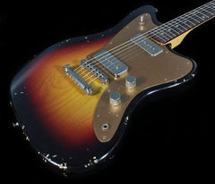 Fano JM6 Guitar in 3 Tone Sunburst