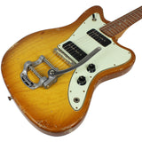 Fano JM6 Guitar in Faded Tea Burst w/ Bigsby