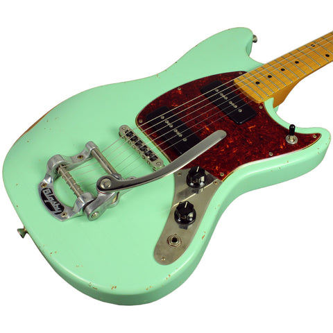 Fano MG6 Guitar in Surf Green w/ Bigsby