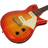 Fano RB6 Guitar in Fire Glow w/ Flamed Maple Top