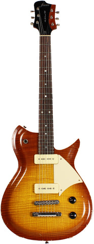 Fano RB6 Guitar in Tobacco Burst w/ Flamed Maple Top