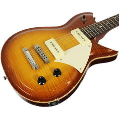 Fano RB6 Custom Guitar - Flamed Tobacco Burst