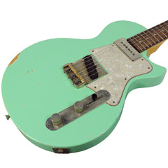 Fano SP6 Guitar - Surf Green w/ Celluloid Pickguard