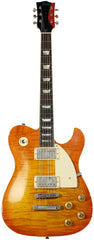 Fano TC6 Custom Carved Top - Honey Burst