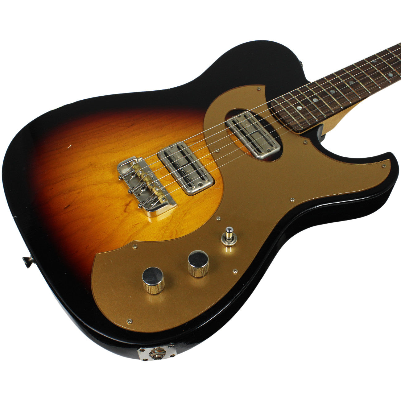 Fano TC6 Guitar in 3-Tone Sunburst | Humbucker Music