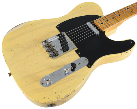 Fender Custom Shop 1951 Relic Nocaster - Faded Nocaster Blonde