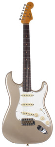 Fender Custom Shop 64 Journeyman Strat Guitar, Super Faded Firemist Gold