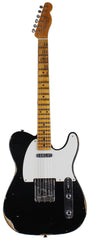 Fender Custom Shop Relic 1954 tele, Aged Black